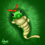 Caterpie Speedpaint by SonARTic