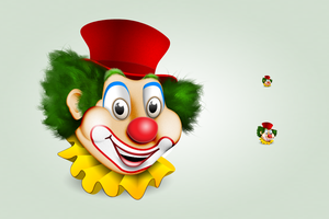 Clown icon by hbielen