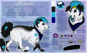 .: Melanie Official Sheet Ref 2014 :. by SillyTheWolf