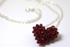 Heart Necklace by kokito85