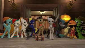 Meet the nightmare night family by D3athbox