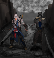 Assassins in the Street by Harold-Genhi