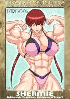 Ms KOF Entry No.06 Shermie by RENtb
