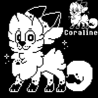 Coraline [UNDERTALE] by pupom