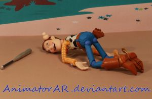 Knocked Out Woody by AnimatorAR