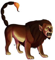 the manticore by CitruShark