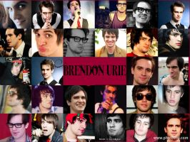 Brendon Urie Collage by DownpourAttheDisco