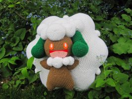 Whimsicott Amigurumi by Phantasmfreud
