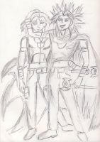 Marik Ishtar: The Good and The Bad by AceOfKeys72