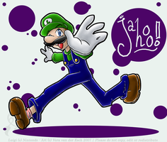 Commission - Luigi by Genolover