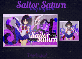 Tiny tagwall - Sailor Saturn by TifaxLockhart