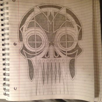 Celtic Skull by thewisesloth