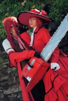 Grell and Madame Red by Yamato-Leaphere