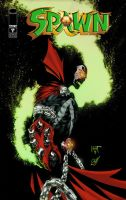 Spawn cover mock-up by KenHunt