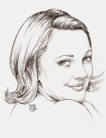 DREW BARRYMORE in 20 mins by MalevolentNate