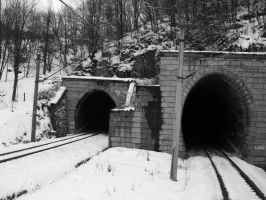 Tunnels by Sadguardian