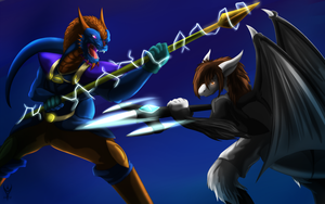 Kiriban Battle of the Elements by Arenthor