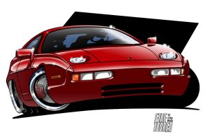 Porsche 928 by FineTooned