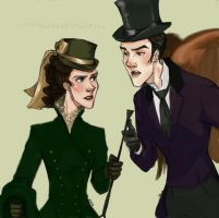 Victorian!Sherlolly Part3 by lexieken