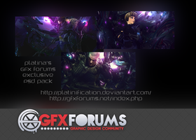 GFXforums Exclusive PSD Pack by Platinification