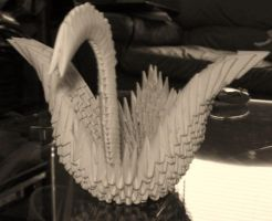 Re: Origami Swan by Sweet-Mint