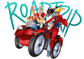 Let's Hit The Road by Sapphire1010