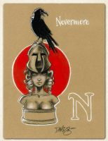 N is for Nevermore by Disezno