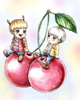 Cherry HunHan by AlmightyCrow