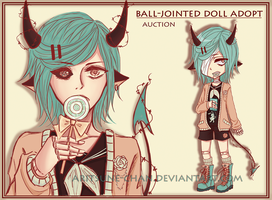 [CLOSED] BJD adopt #5 'Sweet demon' by Aritsune-chan