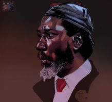 Thelonious Monk by RonAckins