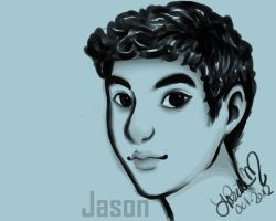 Jason or Willy sketch by SithFez1493