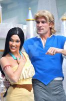 Pocahontas and John Smith by BellesAngel