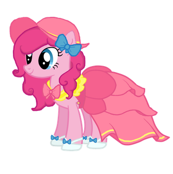 Pinkie's New Dress by MLPinkiePie