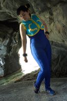 Alpha Chun-li foot tap SDCC09 by shadow-lady-chun-li