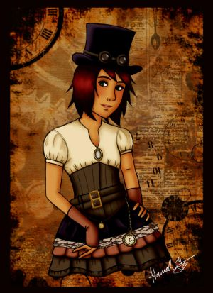 Steampunk! Toni by Marlin-Rae