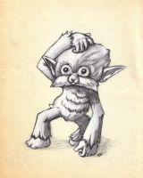 Majora's Mask Monkey by Korikian