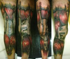 Biomech by alekspunktattoos