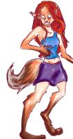What A Foxy Tail by Morph0s