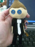 Tre Cool plushie by pearlandfrog13