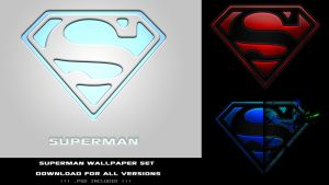 Superman Wallpaper Set by ZelnickDesigns
