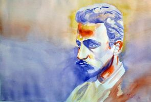 Rainer Maria Rilke by Manhis