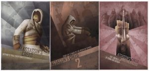 Assassin's Creed Posters by Barbeanicolas