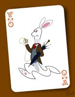 The White Rabbit by edgar1975