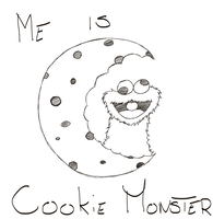Me Iz Cookie Monster by Nothing4Free