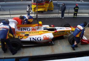 2009, AIA-Portimao, Renault, testes by F1PAM