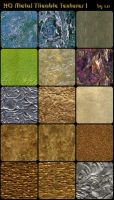 HQ Metal Tileable Textures 1 by css0101