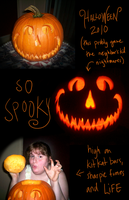 Halloween 2010 Punkin Funtimes by MacabreMoe