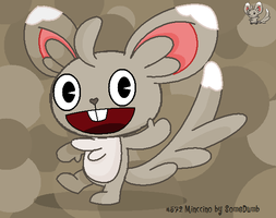 Minccino as a HTF by SomeDumbDeviant