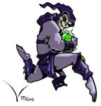 Stylized Skeletor by mct421