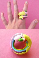 Lady Rainicorn Ring by lemon-stockings